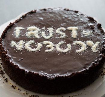 Trust Nobody taart